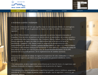 hotelstellamaris.com.mx screenshot