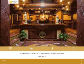 hotelsunstargrand.com screenshot