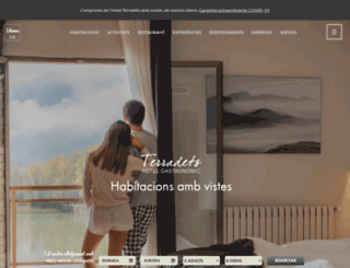 hotelterradets.com screenshot