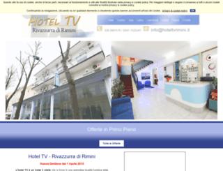 hoteltvrimini.it screenshot