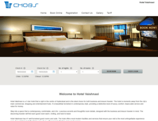 hotelvaishnaoi.chobs.in screenshot