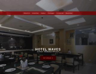 hotelwaves.com screenshot