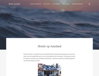 hotelzeewinde.nl screenshot