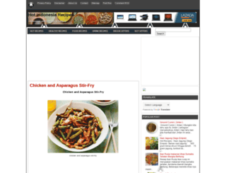 hotindonesiarecipes.blogspot.com screenshot