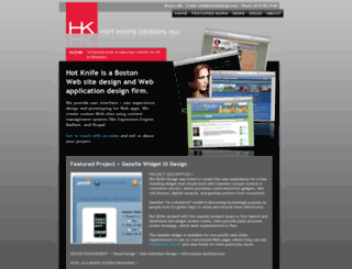 hotknifedesign.com screenshot