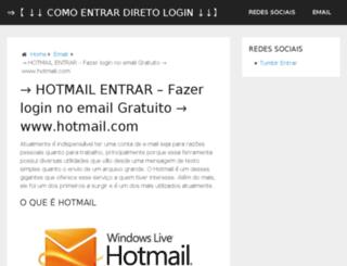 hotmailsupportcontact.com screenshot