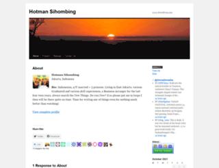hotmanltgo.wordpress.com screenshot