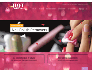 hotnailpens.com screenshot