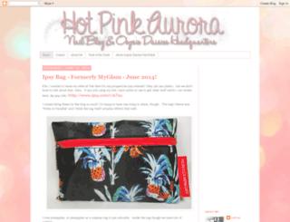 hotpinkaurora.blogspot.com screenshot