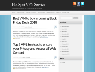 hotspot-vpn.com screenshot