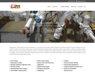 hotspray.com screenshot