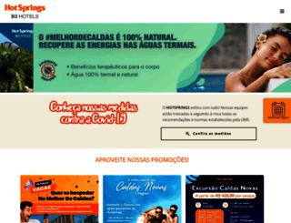 hotsprings.com.br screenshot