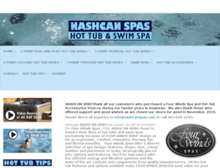 hottubandswimspa.com screenshot