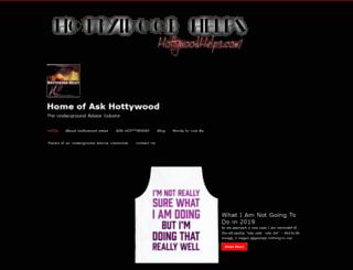hottywoodhelps.com screenshot