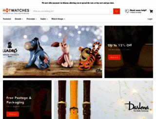 hotwatches.co.uk screenshot
