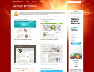hotwebsitetemplates.net screenshot