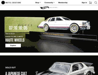 hotwheelscollectors.com screenshot