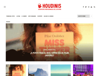 houdinis.es screenshot