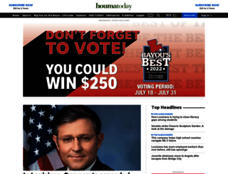 houmatoday.com screenshot