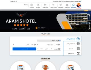 hourgasht.com screenshot
