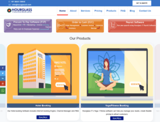 hourglassit.com screenshot