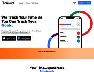hourstimetracking.com screenshot