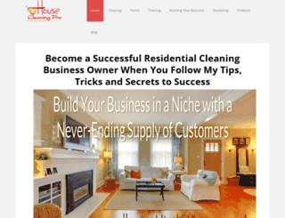 housecleaningpro.net screenshot