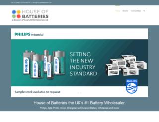 houseofbatteries.co.uk screenshot