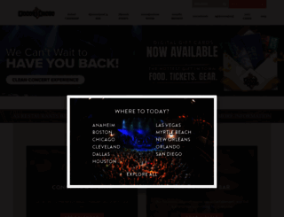 houseofblues.com screenshot