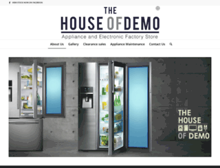 houseofdemo.co.za screenshot