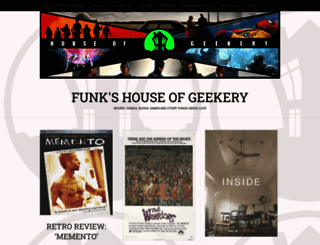 houseofgeekery.com screenshot