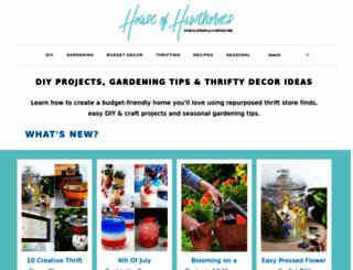 houseofhawthornes.com screenshot