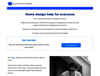 houseplanshelper.com screenshot