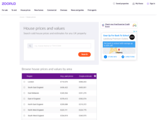 houseprices.co.uk screenshot