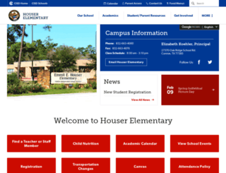 houser.conroeisd.net screenshot