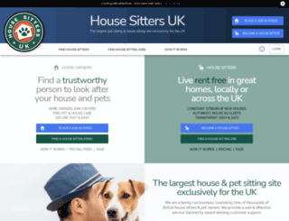 housesittersuk.co.uk screenshot