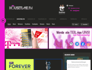housetime.fm screenshot