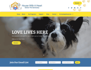 housewithaheart.com screenshot