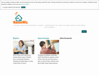 housewiz.co.uk screenshot