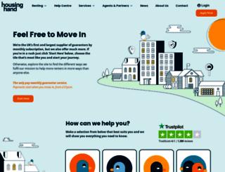 housinghand.co.uk screenshot