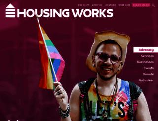 housingworks.org screenshot