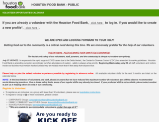 houstonfoodbank.civicore.com screenshot