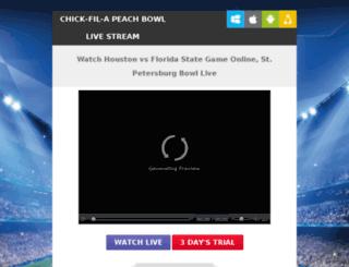 houstonfootballlive.com screenshot