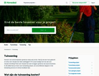 hovenier-weetjes.nl screenshot