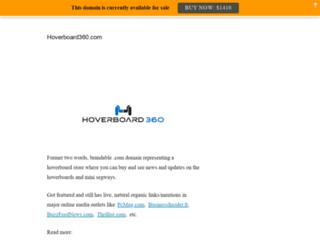 hoverboard360.com screenshot