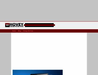 hoveyelectric.com screenshot