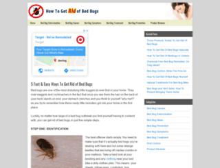 how-to-getridofbedbugs.com screenshot