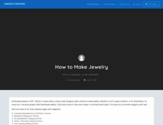 how-to-make-jewelry.com screenshot