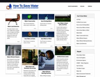 how-to-save-water.co.uk screenshot