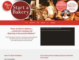 how-to-start-a-bakery.com screenshot